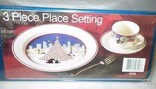 NORITAKE TWAS THE NIGHT BEFORE CHRISTMAS DINNERWARE SET 3 PC PLACE SETTING NIB