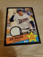 Joe Mauer 2020 Topps Series 2 1985 All Star Relic Black /199