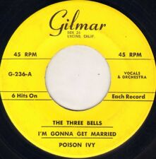 """UNKNOWN / DON HILL """"POISON IVY + 5"""" POP ROCK & ROLL 50'S EP  GILMAR 236"""