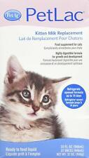 PetAg PetLac Kitten Liquid Milk Replacement, 32oz Tetra Pack - Good for 14 days