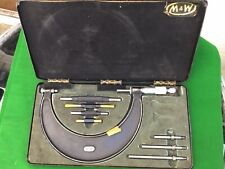 "Moore & Wright No942  2-6"" Micrometer"