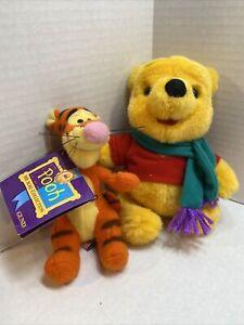 "GUND Winnie the Pooh SOFT TIGGER 5"" Plush AND Winnie The Pooh"
