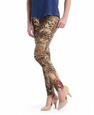 Etienne Marcel Printed Skinny Jeans Cheetah Leopard Low Rise Sz 29 NEW