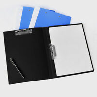 New Coloured A4 Foolscap Paper Clipboard Folder File Clip Board Office Organiser