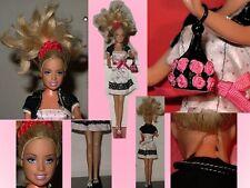 Barbie in reizendem Sommer-Outfit mit Jäckchen+Handtasche+Schuhe,C 2005 MATTEL..