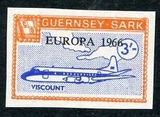 Guernsey SARK 1966 Europa 3s IMPERF PROOFunissued colour