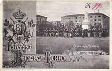 #TORINO- militari: 81° FANTERIA BRIGATA TORINO- CAMBIO DELLA BANDIERA