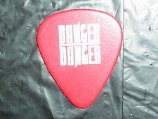 DANGER DANGER Logo & Bruno Ravel Signature 1990's Concert Tour GUITAR PICK #4