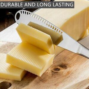 Stainless Steel Butter Cheese Cutter Serrated Edge Dessert Cutlery Jam Spreader