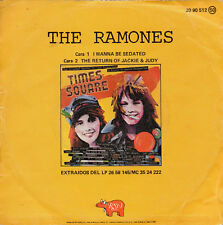 "THE RAMONES ""I WANNA BE SEDATED"" RARE SPANISH 7"" VINYL / TIMES SQUARE SOUNDTRACK"