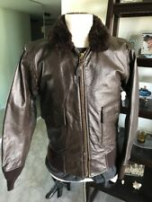 G-1 Cooper  Leather Flight Jacket USCG USMC Marines USN 38 Medium  💎NiceReal!