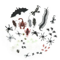 44x Mixed Insects Reptile Scorpion Mouse Model Kids Bags gift Novelty Animaly3