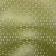 """CLARENCE HOUSE OD LILLY GREEN GEOMETRIC OUTDOOR JACQUARD FABRIC BY YARD 54""""W"""
