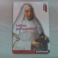 Lettres Portugaises by Gabriel De Guilleragues (French) Texte & Dossier