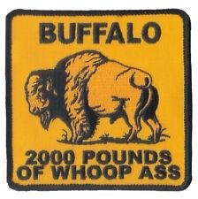 WAX backed 17th Infantry Regiment BUFFALO - American Bison - American Buffalo