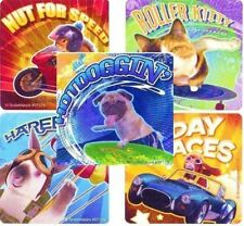 5 x Square Stickers ~ Photo Pets Skating Motor Bike Surfing Sky Diving Car ~