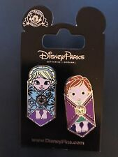 Disney Pin Frozen Anna And Elsa Baby Swaddled