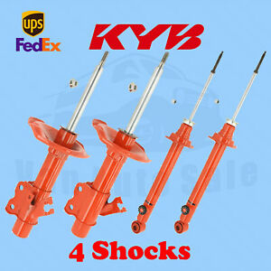 KYB Front Rear Shocks AGX for Nissan 240SX 95-99 Kit 4