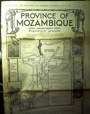 RARE ! - Times - Supplement - Province of Mozambique - 13 juin 1925 - 28 pages