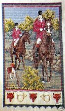 THE CHASE~Cross Stitch Pattern~Marie Barber~Fox Hunt~Horses~Beagle~Equestrian