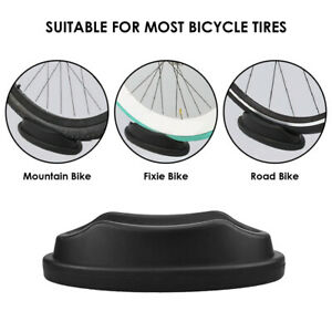 Bike Front Wheel Riser Block Bicycle Stabilize Stand Turbo Trainer Tire Holder