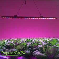Waterproof 108W LED Grow Light Strip Red Blue Bar lighting for Plants Veg Flower