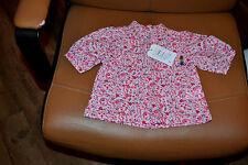 blouse neuve berlingot 3 mois petites fleurs style liberty