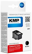 Druckerpatrone KMP C97 Tintenpatrone schwarz kompatibel mit Canon PG-545 XL