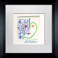 "Pablo PICASSO Lithograph  ""...mi Corazón"" Limited Edition SIGNED Cat. ref. c116"
