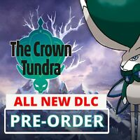 Crown of Tundra Pre Order All New Pokedex Pokemon Sword and Shield Expansion
