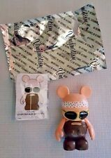 "DISNEY Rare Disneyland VINYLMATION~Urban Series 5~HIPPI MICKEY 3"" Figurine~New"