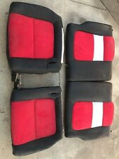 Used 94-01 Acura Integra 2 door coupe rear seats. Custom black red