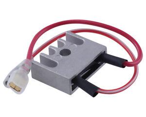 Spannungsregler Gleichrichter YAMAHA DT RD 50 80 R SM MX 6Volt 6V 2-Pin Version