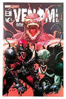 Venom Inc. Alpha #1 (2018 Marvel) Spider-Man, Exclusive Leneil Yu Variant NM