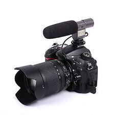 DSLRKIT SG-108 Stereo Shotgun Mikrofone for CANON NIKON PENTAX OLYMPUS PANASONIC