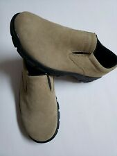 Lands' End Women's Size 6M Beige Slip On Casual Shoes 73773 New Without a Box