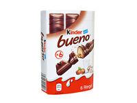 KINDER BUENO ~ genuine chocolate from Germany 12x / 30x pcs. (9.1oz / 22.75oz)
