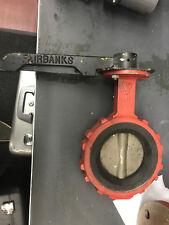 Fairbank Morse Butterfly valve