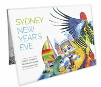 2016 SYDNEY NEW YEARS EVE FIREWORKS Silver 1/2oz Coin on Card