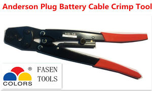 1.25-16mm² CABLE BATTERY LUG ANDERSON PLUG CRIMPING TOOL CRIMP (Bare Terminal)