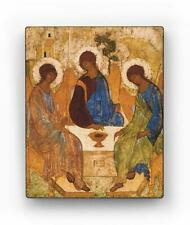 Russian Orthodox Icons. The Holy Trinity. Andrei Rublev.  Inspirational Wall Art