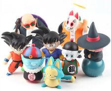 4Pcs Dragon Ball Z Son Goku Gohan Uranai Master Roshi PVC Figure Toys Kids Gift