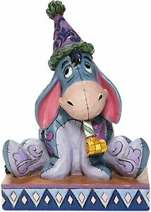 Enesco E1 Disney Traditions Winnie The Pooh 5.75in H Eeyore W/ Birthday Hat/Horn
