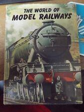 THE WORLD OF MODEL RAILWAYS BY JOSEPH MARTIN 1960 HARDBACK BOOK