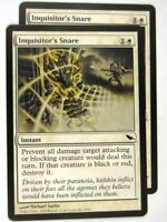 MTG Magic: the Gathering Cards: INQUISITOR'S SNARE x2: SHM