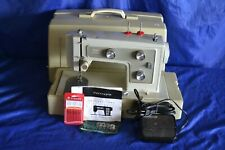 KENMORE 148.12220 ZIGZAG SEWING MACHINE SERVICED CASE MANUAL READY TO SEW