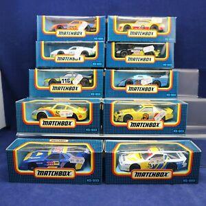 10 x 1980's MATCHBOX KS-803 1/43 Diecast Models MIB