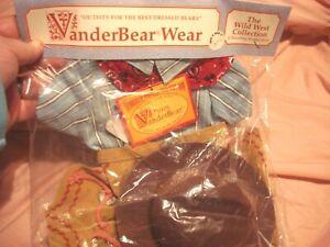 VanderBear Wear Wild West Collection Fuzzy Kid Outfit Dazzling Rope Tricks NIP