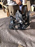 RIDE LX SERIES SNOWBOARD BINDINGS SIZE XL 11-15 STRONGER LIGHTER