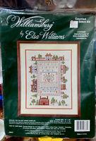 Williamsburg Around the Palace Green Sampler Elsa Williams Cross Stitch Kit